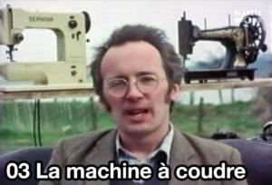 03) La machine à coudre