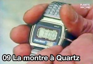 09) La montre à quartz