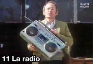 11) La radio