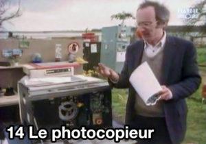 14) Le photocopieur