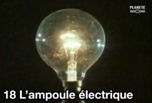 18) L'ampoule électrique